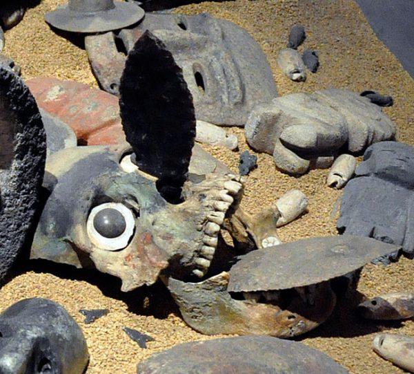 occhio di vetro azteco